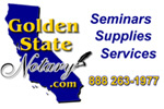 golden state notary, california notary supplies, california notary seminars, california notary services, notaries helping notaries, nna, california notary public, us notaries, usa notaries, notary public, mobile notaries,